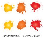 collection of artistic grungy... | Shutterstock . vector #1399101104