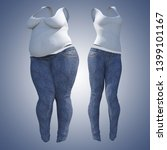 conceptual fat overweight obese ... | Shutterstock . vector #1399101167