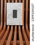Notebook. Book. Wooden...