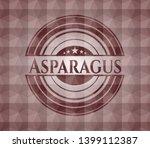 asparagus red emblem or badge...   Shutterstock .eps vector #1399112387