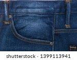 pocket of jeans. background of... | Shutterstock . vector #1399113941