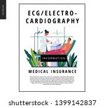 medical tests template  ecg... | Shutterstock .eps vector #1399142837