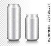 realistic aluminum can set ...   Shutterstock .eps vector #1399151234