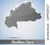 shiny icon in form of burkina... | Shutterstock .eps vector #139920517