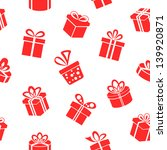 Seamless Vector Gift Pattern ...