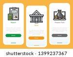 onboarding screens design...   Shutterstock .eps vector #1399237367