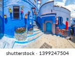 amazing street and architecture ... | Shutterstock . vector #1399247504