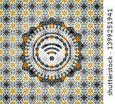 wifi signal icon inside...   Shutterstock .eps vector #1399251941