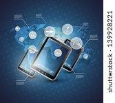 cloud computing concept | Shutterstock .eps vector #139928221
