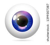 Human Eye Front View Close Up ...