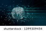 5g and ai technology background | Shutterstock . vector #1399309454