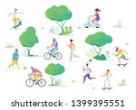 man and woman characters... | Shutterstock .eps vector #1399395551
