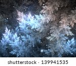 Fractal Frost In Winter Night ...