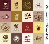 set of coffee icons | Shutterstock .eps vector #139942765