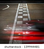 speeding car on a kart race | Shutterstock . vector #139944481