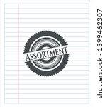 assortment emblem drawn in... | Shutterstock .eps vector #1399462307