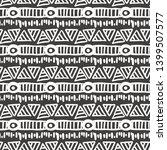 seamless aztec vector pattern.... | Shutterstock .eps vector #1399507577