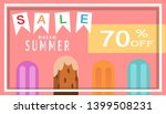 tropical and summer time... | Shutterstock .eps vector #1399508231