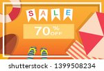 tropical and summer time... | Shutterstock .eps vector #1399508234