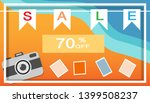 tropical and summer time... | Shutterstock .eps vector #1399508237