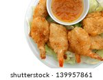 Coconut Shrimp With Sauce In...