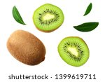 Kiwi Fruit With Slices And...