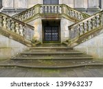 baroque stairs of a kuks...