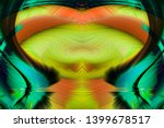 abstract art screensaver.... | Shutterstock . vector #1399678517