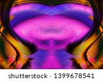 abstract art screensaver.... | Shutterstock . vector #1399678541