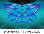 abstract art screensaver.... | Shutterstock . vector #1399678607