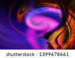 abstract art screensaver.... | Shutterstock . vector #1399678661