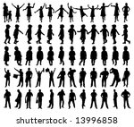 silhouette | Shutterstock .eps vector #13996858