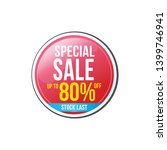 sale and special offer tag ... | Shutterstock .eps vector #1399746941