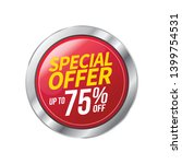 sale and special offer tag ... | Shutterstock .eps vector #1399754531