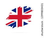 flag of the great britain.... | Shutterstock .eps vector #1399803431