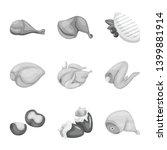 vector design of cuisine and... | Shutterstock .eps vector #1399881914