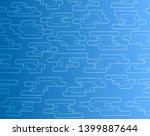 abstract vector background ... | Shutterstock .eps vector #1399887644