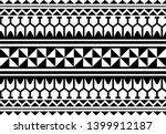 tattoo tribal maori pattern ... | Shutterstock .eps vector #1399912187