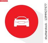 car icon. vector  eps 10  .... | Shutterstock .eps vector #1399927577