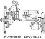 steering wheel is the image on... | Shutterstock .eps vector #1399948181