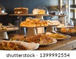 Buffet Table Displays A Variety ...