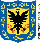 coat of arms of the city of... | Shutterstock .eps vector #1400010677