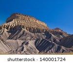 Mesa Rising Above The Desert ...