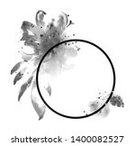 black ink tattoo composition.... | Shutterstock . vector #1400082527