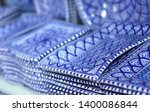 unique handmade tracery... | Shutterstock . vector #1400086844