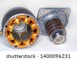 stepper motor  disassembled ...   Shutterstock . vector #1400096231