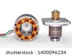 stepper motor  disassembled ...   Shutterstock . vector #1400096234