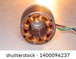stepper motor  disassembled ...   Shutterstock . vector #1400096237