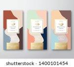 coffee  cocoa and pistachio... | Shutterstock .eps vector #1400101454