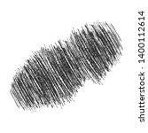 hand drawn pencil scribble... | Shutterstock .eps vector #1400112614
